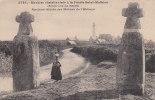 00380 Dolmen Menhris De Brest Anciena Gibets Des Moines De L`Abbaye - Dolmen & Menhire