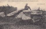 00383 Dolmen Menhris Alle Couverte En Pleumeur Pres I`Lle Grande - Dolmen & Menhire