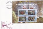 Papua New Guinea -2008  Marine Biodiversity Sheetlet   FDC - Papua New Guinea