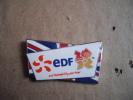 1 Pin´s Edf Londres 2012 Drapeau Britanique - Pin's & Anstecknadeln