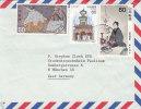 Japon - Lustres - Lettre Partielle De 1982 - Covers & Documents