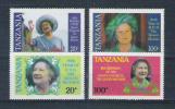 Tanzania 1985 Y&T Nr° 262A/262D** - Tansania (1964-...)