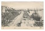 ALGERIE  /  BONE  /  LE  PORT  ET  LE  QUAI  WARNIER  /  Edit.  ND  Phot.  N° 222  ( A Voyagé En 1919 ) - Otras Ciudades