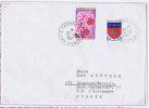 Guyane Francais:  Airmail Letter 1967 Cayenne To Neustadt Germany , Mixed Stamps - Guyana (1966-...)