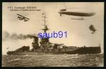 H.M.S. Dreadnought Iron Duke  -  Hydroplane Et Dirigeables Derniers Types -  Marine - Aviation - Réf  : 20390 - Guerre