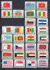 O.N.U. 1980- 83, Drapeaux Des Etats, Entre 316 Et  401** Cote  46,65 - Stamps