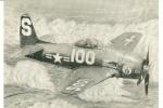 CPSM AVION WARBIRDS 2 BEARCAT  Dessiné Ed DAUGE - 1946-....: Moderne