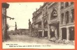 CPA -REIMS, RUINES APRES RETRAITE ALLEMANDE -Marne (51) -Circulé -Ed. Thuillier - Reims