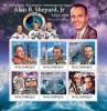 MOZAMBIQUE 2011 MNH** -  Alan B. Shepard - Mi 4605-4610 - Space