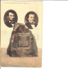 Lincoln And Douglas Monument Freeport Illinois Postmark Freeport 1910 - Monumentos