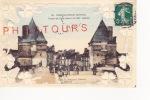 CHATELLERAULT  /  TOURS DU PONT HENRI IV  (carte Gauffrée)   1909 - Chatellerault