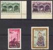Turquie 1960 - Y & T N°1524 à 1527** - 4 Valeurs - Unused Stamps