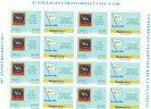 """2006 Repubblica Minifoglio """"unione Stampa Filatelica"""" Integri - MNH** - Blokken & Velletjes"""