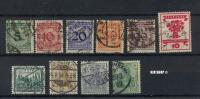 Konvolut Marken , Vers.WW. 0,75 € - Gebraucht