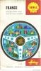 CARTE ROUTIERE SHELL BERRE - France 1970 - Roadmaps