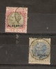 ITALY - 1920/3 FISCALS HOTEL TAX (ALBERGHI) 2L & 5L USED - Italy