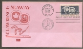 USA. Scott # 1131 FDC. Opening Of St. Lawrence Seaway. Joint Issue With Canada 1959 - Joint Issues