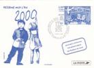 FRANCE Entier Postal Sur Carte Postale De L´Imprimerie Des Timbres-poste : Dessine Moi L´an 2000 - Pseudo-interi Di Produzione Ufficiale