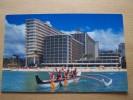 The OUTRIGGER REEF On The BEACH - Honolulu Hawai I -1996 - Hôtel Barque Pagai - - Honolulu