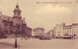ANDERLECHT-CUREGHEM = Place Du Conseil - Carte Animée + Commerces (P.I.B.  N° 401) - Anderlecht