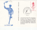 FRANCE Entier Postal Sur Carte Postale De L´Imprimerie Des Timbres-poste : Parcours De La Flamme Olympique - Pseudo-interi Di Produzione Ufficiale