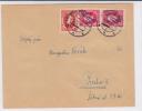 SLOVAQUIE - 1939 - ENVELOPPE De BRATISLAVA Avec TIMBRE SURCHARGE + NORMAL Pour PRAGUE - Slovaquie
