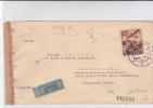 SLOVAQUIE - 1944 - ENVELOPPE De BRATISLAVA Par AVION Avec CENSURE Pour DORNSTEDT (GERMANY) - Slovaquie