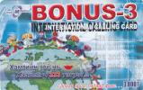 MONGOLIA - Mongolia Telecom Prepaid Card 3000 Units, Used - Mongolia