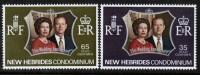 NEW HEBRIDES(British)   Scott #  169-70**  VF MINT NH - Nouvelles-Hébrides