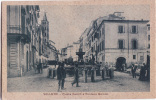 VELLETRI ROMA PIAZZA CAIROLI E FONTANA BERNINI F/P VIAGGIATA 1923 - Velletri