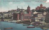 38014 Constantinopole Vue De Phanar Et L`Eglise Bulgare Not Used Good   Shape Corner Cut - Turchia