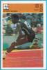 EDWIN MOSES - Usa Athletics Star ( Yugoslavia Vintage Card Svijet Sporta ) Athlétisme Athletik Atletismo Atletica - Athletics