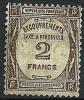 "FR Taxe YT 62 "" Typographie : 2F Sépia "" 1927-31 Oblitéré - Taxes"