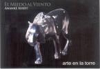 ARTE EN LA TORRE EL MIEDO AL VIENTO ANANKE ASSEFF SETIEMBRE-NOVIEMBRE 2011 ARTE ART ESCULTURA TORRE YPF - Sculptures