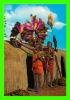NAIROBI, KENYA - MASAI DANCERS - SAPRA STUDIO - - Kenya