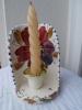 BOUGEOIR En Céramique Ou Faience, Signé EMMA, Fabrication Espagne - Céramiques
