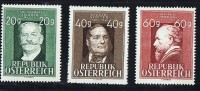 1948  Artistes Autrichiens: Ziehner * Mh, Stiffer ** MNHH , Amerling  ** MNh - 1918-1945 1. Republik