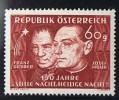 1948  Cantique  «Sainte Nuit» * MH - 1945-.... 2nd Republic