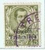 VENEZIA TRIDENTINA   Francobollo Italiano Soprastampato  45 C. - Trente