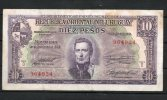 10- URUGUAY -1939 Billetes De 10 Pesos Term. 924 - Uruguay