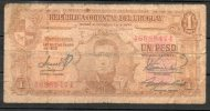 13- URUGUAY -1939 Billetes De 1 Peso Term. 474-Serie C - Uruguay