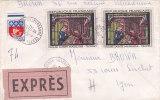 Lettre De France Oblitérée Le 20.12.1967 - Exprès - France
