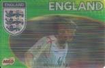 Football Team England - 3D Card - Steven Gerrard, Paul Robinson, Gary Neville - Ohne Zuordnung