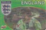 Football Team England - 3D Card - Wayne Rooney, David Beckham, Rio Ferdinand - Ohne Zuordnung