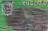 Football Team England - 3D Card - Joe Cole, Paul Robinson, David Beckham - Other Collections