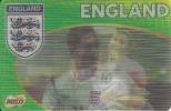 Football Team England - 3D Card - Michael Owen, Joe Cole, Peter Crouch - Andere Sammlungen