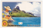 """Polynésie Française / Tahiti - Carte Postale Prétimbrée à Poster 1998 Entier - """"Les îles Australes"""" - Neuve - Französisch-Polynesien"""