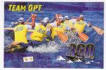 """Polynésie Française / Tahiti - Carte Postale Prétimbrée à Poster 2010 Entier - """" Le Team OPT 360 """" - Neuve - Polinesia Francesa"""
