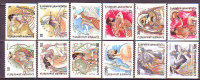 GREECE -  GODS OF THE OLYMPUS - DIOSES DE OLIMPO - IMPERF.  - **MNH - 1986 - Fairy Tales, Popular Stories & Legends