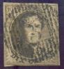 N°6 - Médaillon 10 Centimes Brun, Margé Et Obl. D.3 ANTOING Bien Nette Et Laissant L´effigie Dégagée. - 7341 - 1851-1857 Médaillons (6/8)